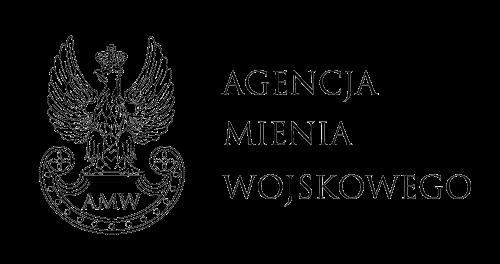 Grafika przedstawiająca logo witryny Agencja Mienia Wojskowego