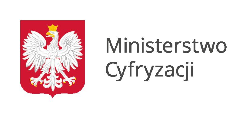 Grafika przedstawiająca logo witryny Ministerstwo Cyfryzacji