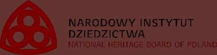 Grafika przedstawiająca logo witryny Narodowy Instytut Dziedzictwa