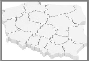 Grafika przedstawiająca granice administracyjne