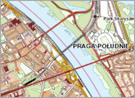 Grafika przedstawiająca dane topograficzne