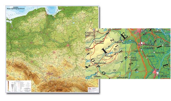 Mapy Tematyczne Geoportal Krajowy