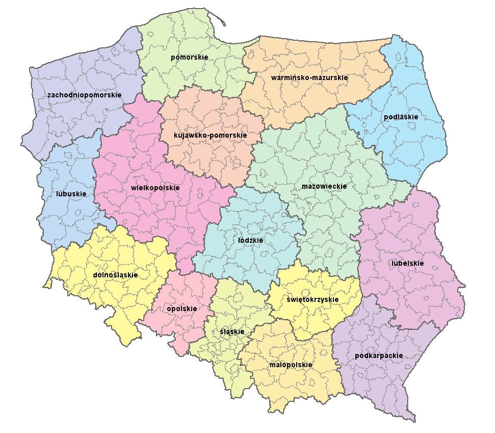 Kody Html Na Mape Polski Regiony Forum Pasja Informatyki